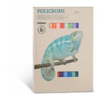 ცარცი Soft pastel chalks. Cardboard box of 24 colours.  021GC24I PRIMO