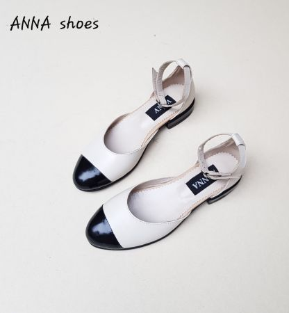 ANNA shoes Natural Leather shoes