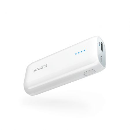 Portable Charger Anker A1211025 6700 mAh white