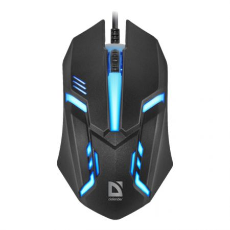 Gaming მაუსი Defender MM-550L Wired Black