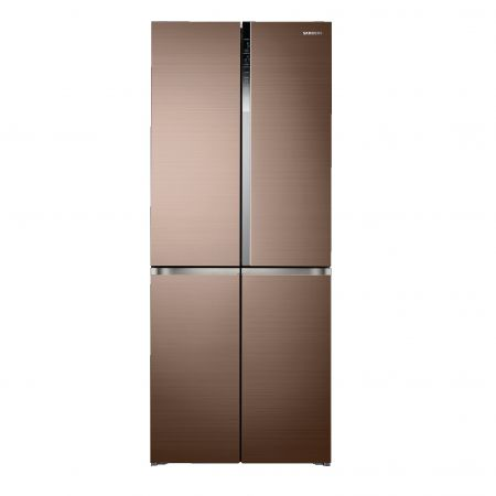 Side-by-side მაცივარი Samsung RF50K5961DP/WT Brown