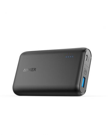 Portable Charger Anker A1266011 10 000 mAh Black