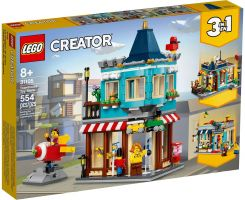 LEGO CREATOR - Townhouse and Toy Shop 8 წლიდან