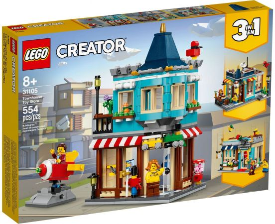 A toy LEGO CREATOR - Townhouse and Toy Shop