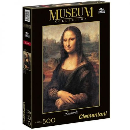 CLEMENTONI Puzzle - Slave Lisa (500 Partially)
