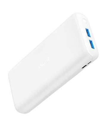 Portable Charger Anker A1269021 20 000 mAh white