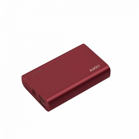 Portable Charger Aukey PB-XD12 10 000 mAh red