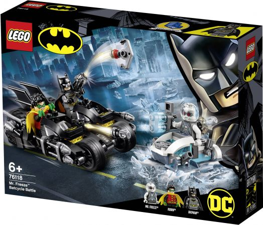 LEGO DC BATMAN - Mr. Freeze Batcycle Battle 6 წლიდან