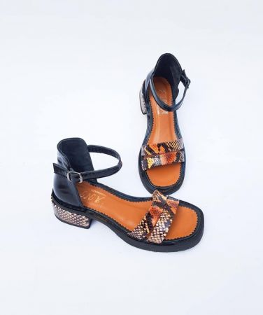 ANNA shoes Natural Leather  Sandals