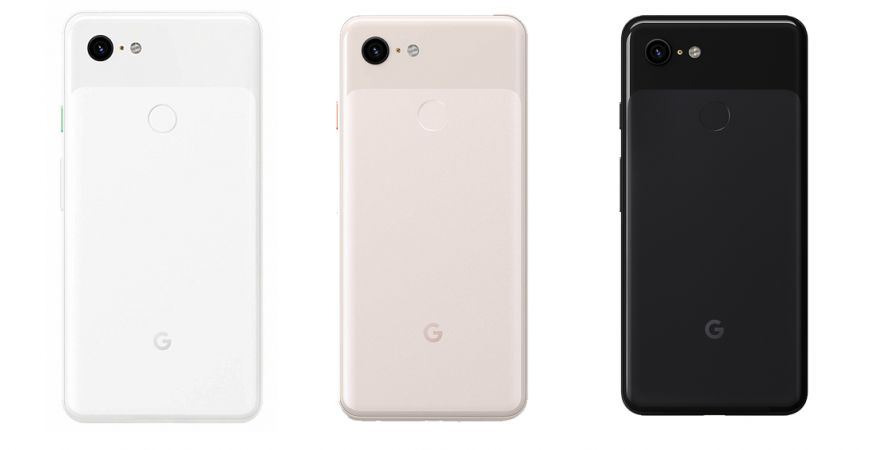 Google Pixel 3 64GB RAM  4GB Clearly White, Just Black, Not Pink