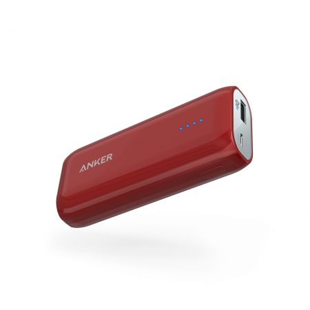 Portable Charger Anker A1211095 6700 mAh red